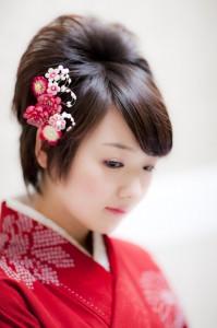 卒業袴の撮影