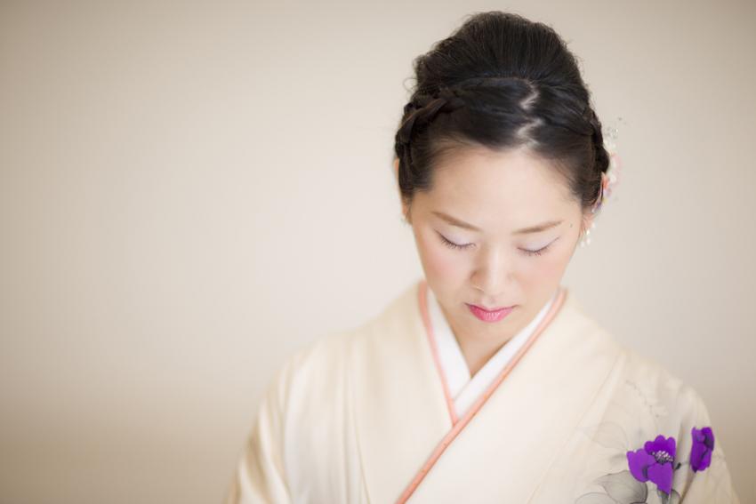 卒業袴姿の写真撮影