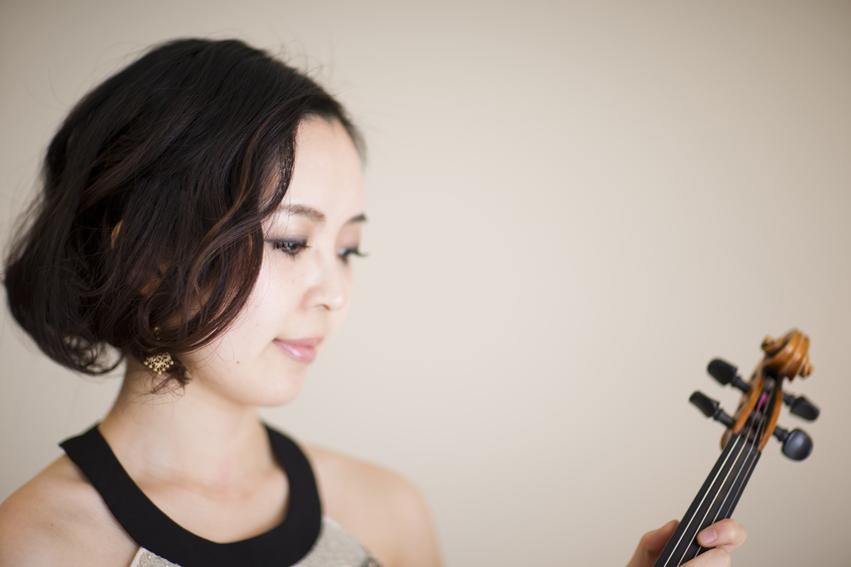 バイオリニストの撮影