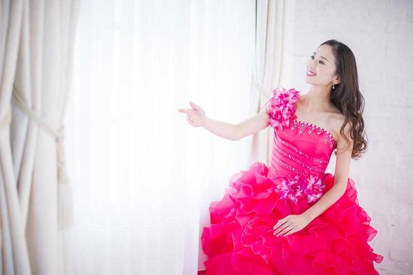バレエダンサーのプロフィール撮影