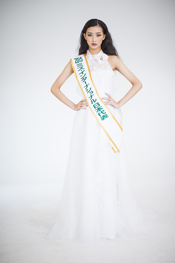 ミスインターナショナル日本大会 受賞者の撮影