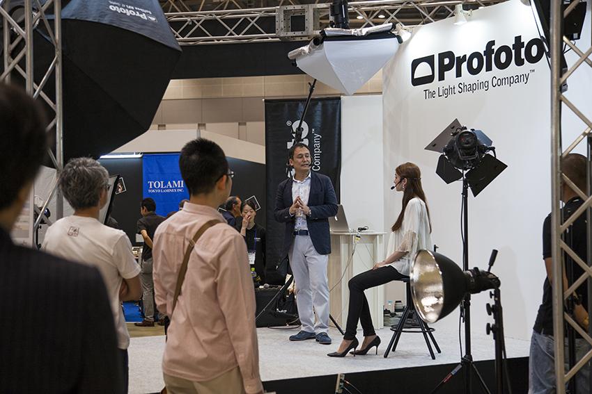 PHOTONEXT 2015 Profotoブースでのセミナー