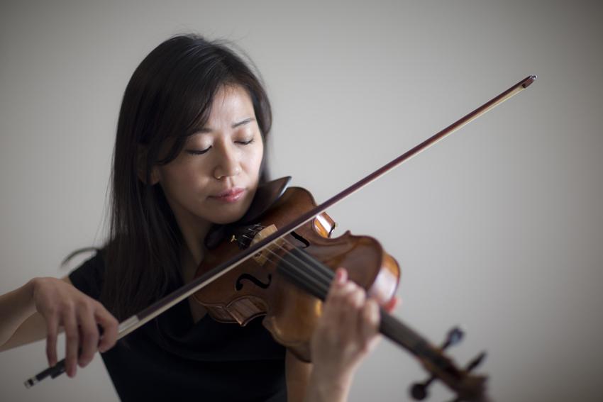バイオリニストのプロモーションフォト