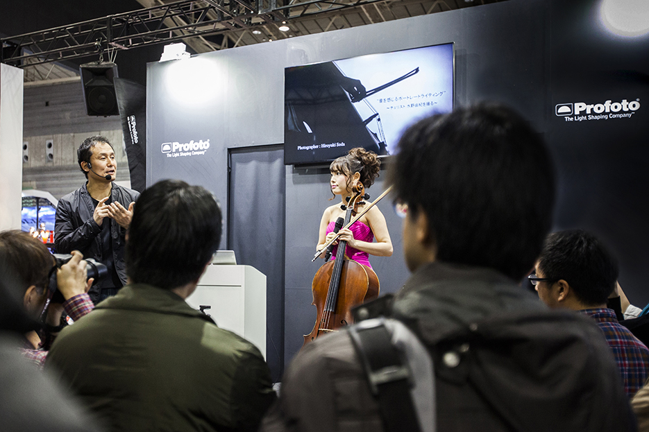 CP+ (CAMERA & PHOTO IMAGING SHOW 2016)  Profoto セミナー