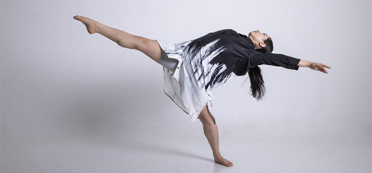 コンテンポラリーダンサーのプロフィール撮影